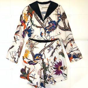 BALENCIAGA Silk Skirt Sz 38